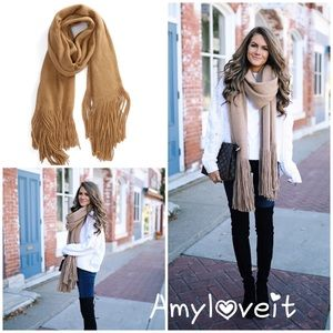 New Free People Kolby Brushed Scarf